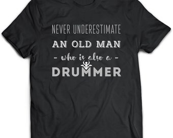 Drummer Gift, Drummer Tshirt, Drummer Top, Drummer Tee, Drummer Art, Drummer Clothing, Drummer Apparel, Husband Gift, Boyfriend Gift