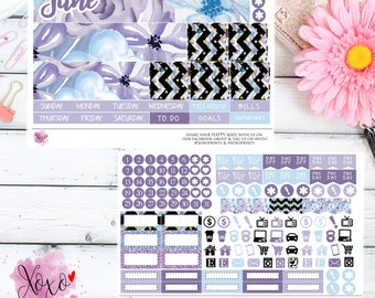 Lavender Monthly Kit for your TN B6 Annie Plans Inserts