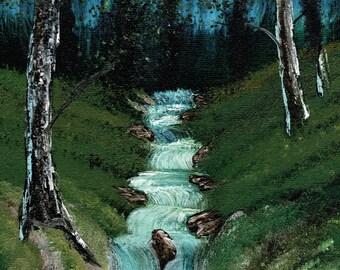 Outback Stream print