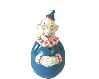 Vintage Roly Poly Chime Clown