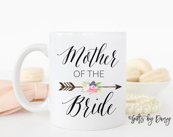 Mother of the Bride Gift, Gift for mom, Mom Wedding Gift, ceramic coffee mug, Wedding Gift, Gift For Mother Of Bride, christmas, m-124