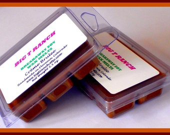Creme Brulee - Breakaway Melts - Tarts - Free U.S. Shipping - Highly Scented - Candle Warmer Tarts