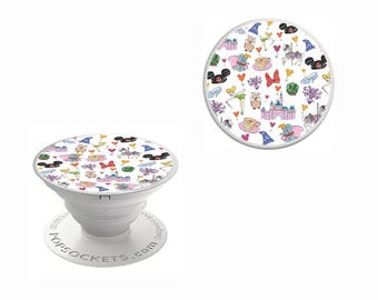 Character Collage Decal for Popsocket | PopSockets Decal | Pop Socket Character Decal | PopSocket NOT INCLUDED