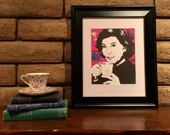 EMILY GILMORE - Sharpie art digital download