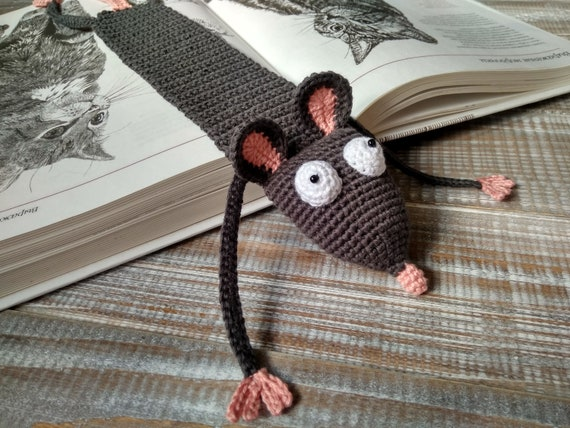 Amigurumi Rat : Amigurumi sengi or elephant shrew cute crochet animal with a long