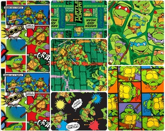 Ninja Turtles Cotton Fabric by Springs Creative! [Choose Your Cut Size]