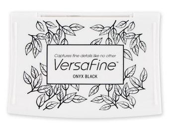 Versa Fine Onyx Black stamp pad