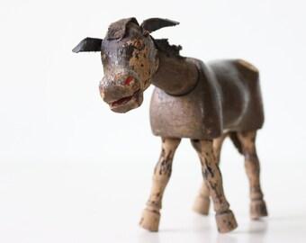 Vintage Toy Donkey, Schoenhut