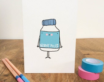 Nerve Pills Card