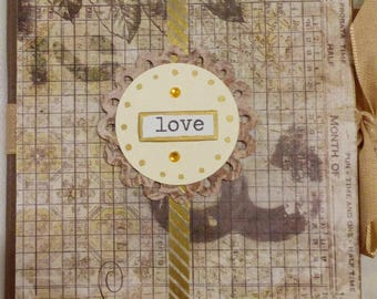 Traveling Love Notebook With Two Pads and Pen