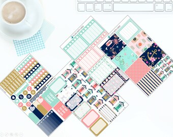 Beach House - Weekly Kit Stickers for Erin Condren Vertical LifePlanner *NEW PREMIUM PAPER!*