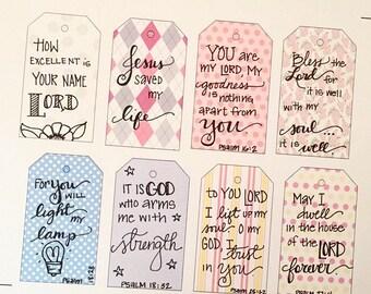 Bible Journaling Tags