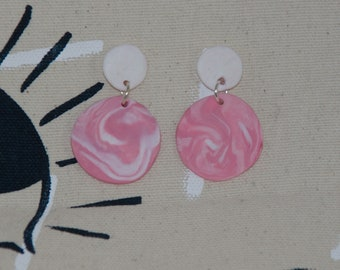 Spruce Mini Moons in Pink and White