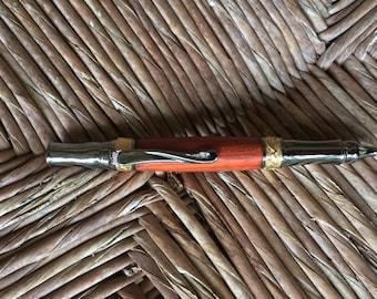 Noveau Sceptre Ballpoint Twist Pen in Gun Metal Finish