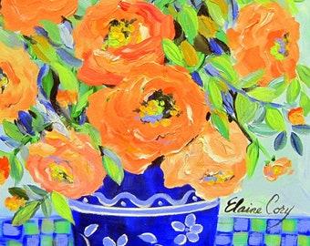 Original painting 16 x 20 acrylic painting Fine art by Elaine Cory