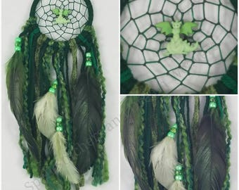 Green Dragon Dreamcatcher