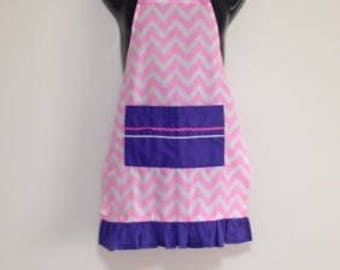 Girls Apron, Size 6 to 10, Apron, Kids Apron, Childs Apron, Childrens Apron, Free Shipping AUST, Baking, Cooking, Birthday Gift, Kid's Apron
