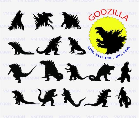 godzilla svg godzillavector godzilla clipart godzilla cut file rh etsystudio com gorilla clipart free godzilla clip art free