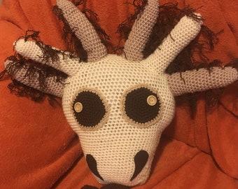 Handmade  axolotl cushion, thanxalotl original