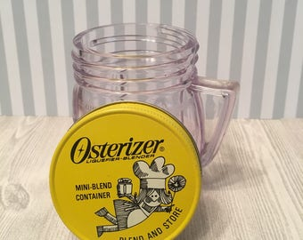 Vintage Osterizer Mini-Blend Container