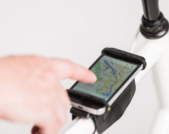 Bike Phone Holder For Any iPhone, Android, and Bicycle