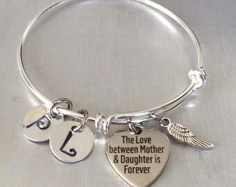 Mother-Daughter bangle bracelet
