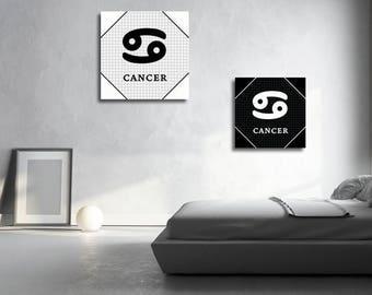 2 french cancer zodiac sign Astrology English instant download 5 X 5 8 X 8 10 X 10 12 X 12 15 X 15 16 X 16 18 X 18 20 X 20 30 X 30 50 X 50