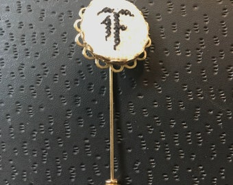 Embroidered Stick Pin