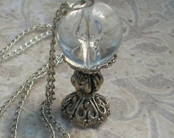 The Future Looks Bright - Crystal Ball Pendant