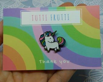 Magical Rainbow Unicorn Enamel Pin // unicorn gift// lapel pin // unicorn accessories // unicorn girl