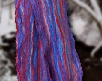 Cobweb Felt Merino Wool Scarf
