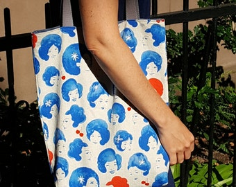 Heads Up Tote Bag