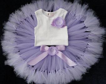 Lavender Birthday Tutu | 1st Birthday Tutu