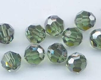 "12 Swarovski crystals with ""satin"" effect - art. 5000 -erinite satin - 8 mm"