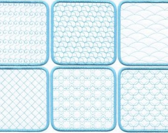 Quilt Squares - INSTANT DOWNLOAD - Machine Embroidery - 4x4, 5x5 AND 6x6 hoop sizes