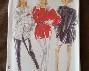 VINTAGE New Look 6581 Misses Shirt 8-20