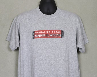 The Swans vintage & rare t-shirt, heather gray, Michael Gira, Jarboe, No Wave, Sonic Youth, XL