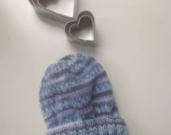 Baby hat, child hat ,made to order,hand knitted, newborn to 7 years, soft, gift, baby shower, Birthday , cotton, various colour options