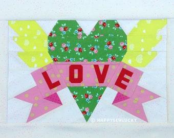 Love Heart Tattoo pattern