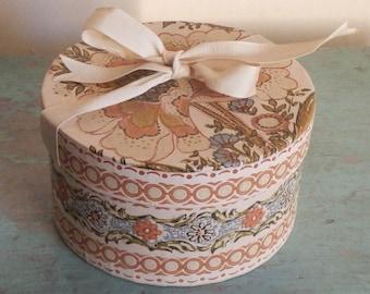 Ohio Vintage Handmade Wallpaper Box!