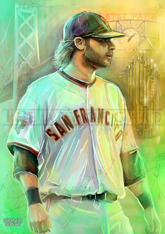 Brandon Crawford (Championship Collage) 11X17 Art Print