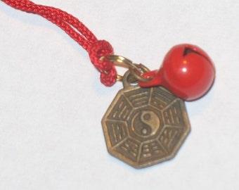 Good Luck Yin Yang Amulet Talisman Omamori Charm
