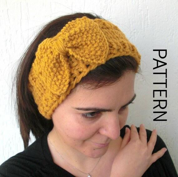Diy Gift Instant Download Headband Pattern Digital Headband