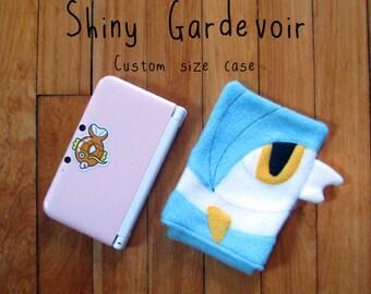 JULY PREORDER 3ds XL Case / Custom Size Pokemon Gardevoir pouch carrying case new 3ds / 3ds xl / nintendo switch / psp vita holder cozy