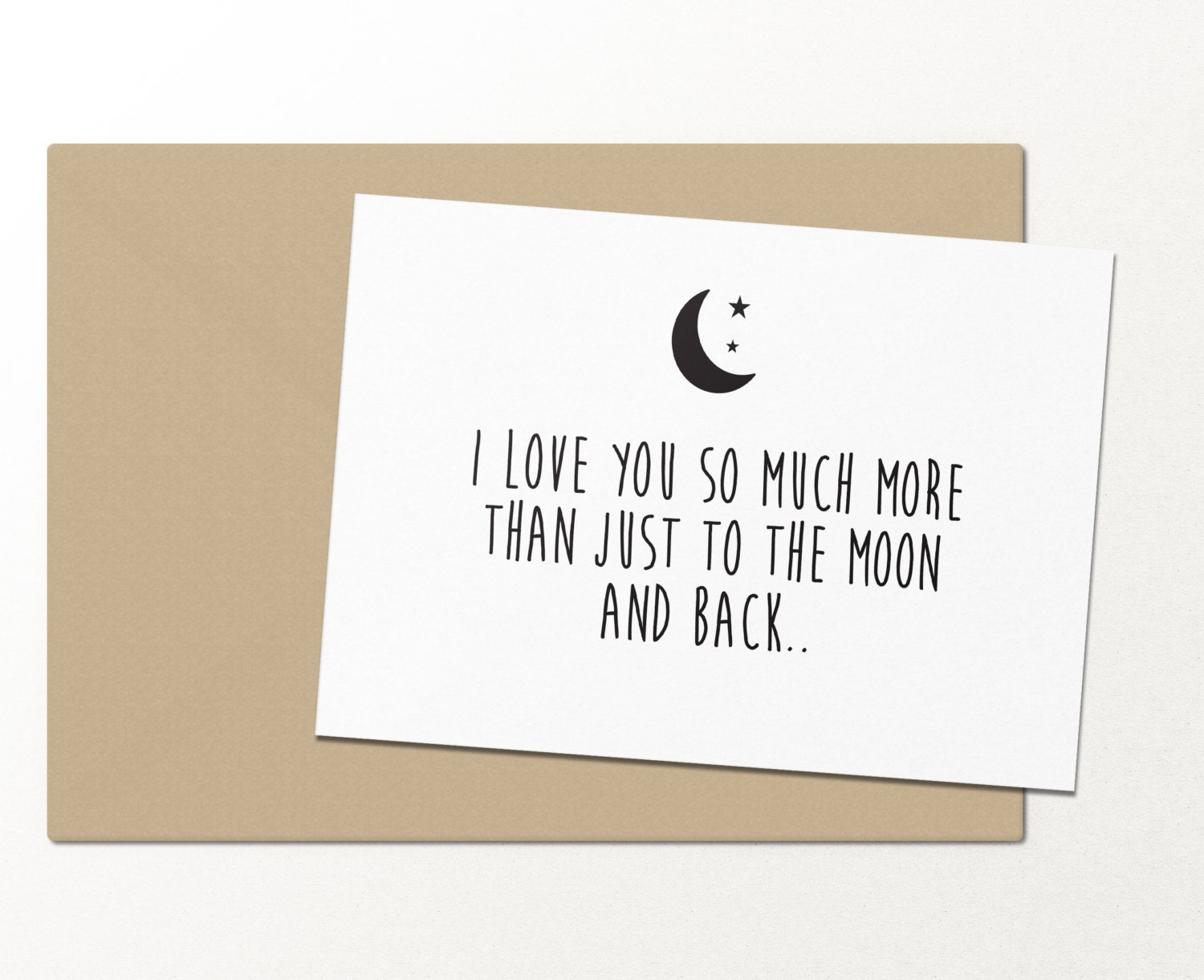 I love you so much more than just to the moon and back zoom m4hsunfo Images