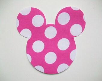 Apliques de Mickey Mouse Minnie - hierro en