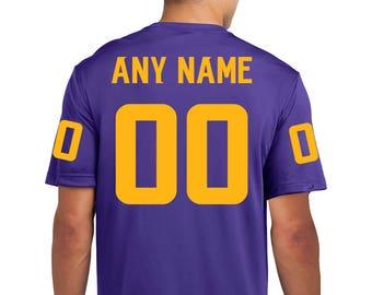 Minnesota Vikings Custom Performance T-shirt