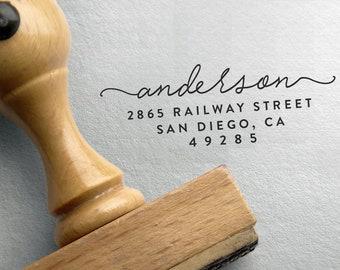 CUSTOM ADDRESS STAMP, Self Ink Return Address Stamp, Personalized Address Stamp, Self Ink Custom Address Stamp, Wedding Address Stamp