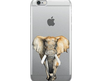 iPhone Case, Majestic African Elephant
