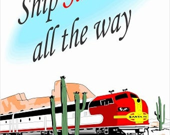 Santa Fe Railroad P207